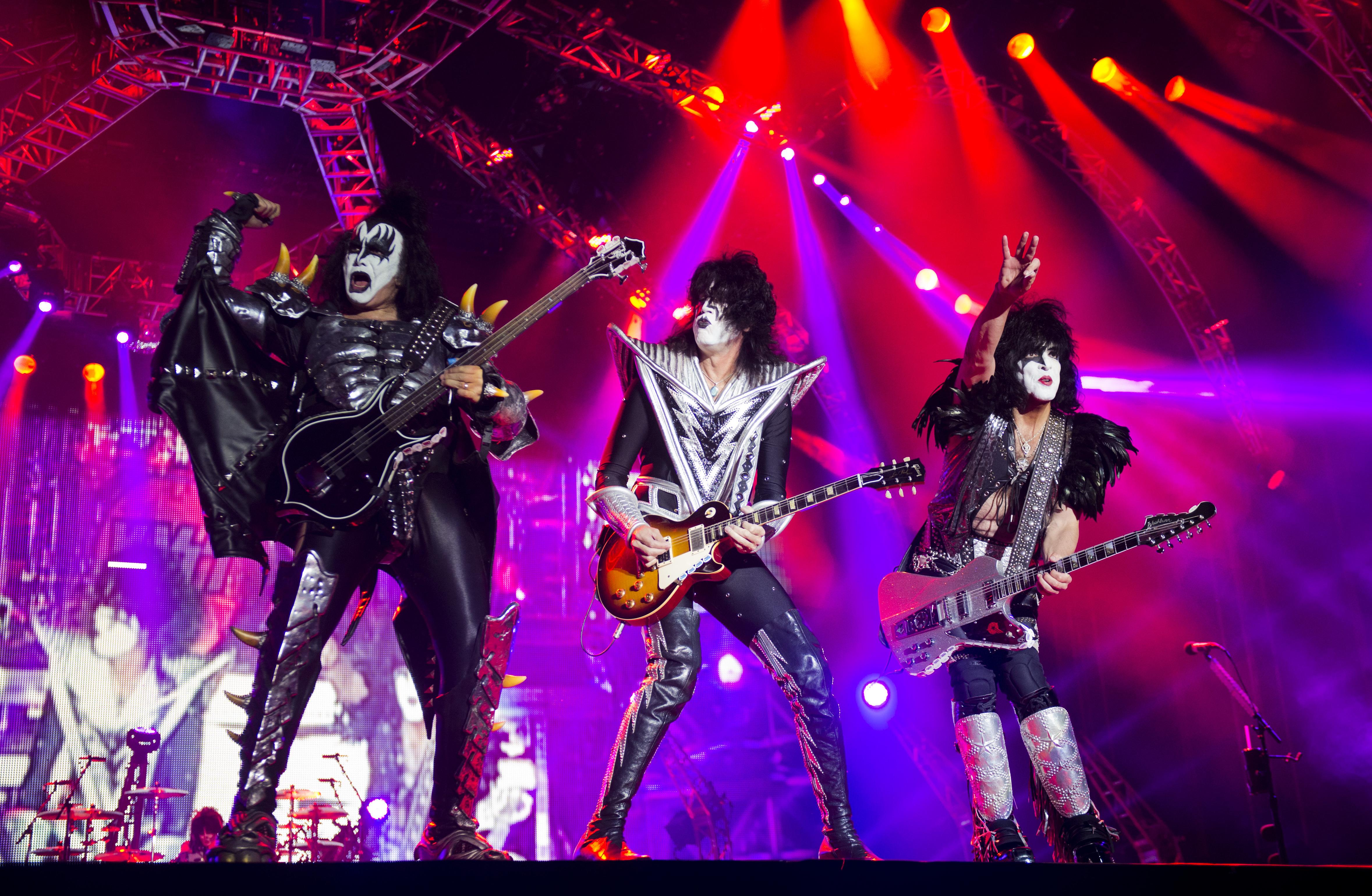 Väldigt illa pinkat av Kiss 2013. (Foto: Rickard Nilsson)