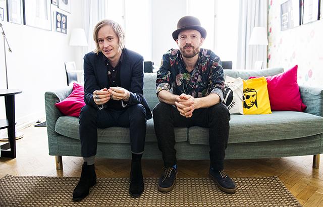 Dennis Lyxzén och David Sandström är halva Refused.