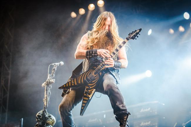 The master of hiddely-middely: Zakk Wylde himself. Foto: Viktor Wallström/Rockfoto