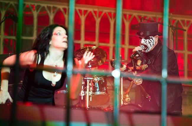 King Diamond spelade senast på Sweden Rock 2012. Nästa år är det dags igen. Foto: Rickard Nilsson