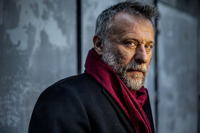 """""""Namnet är Nyqvist, inte Blomkvist … om jag får be."""" Foto: Magnus Wennman"""