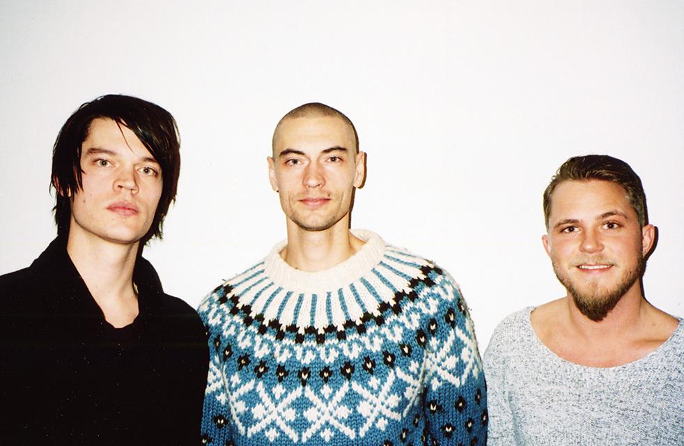 State of Sound och Gustaf Norén i mitten. Foto: Pressbild.