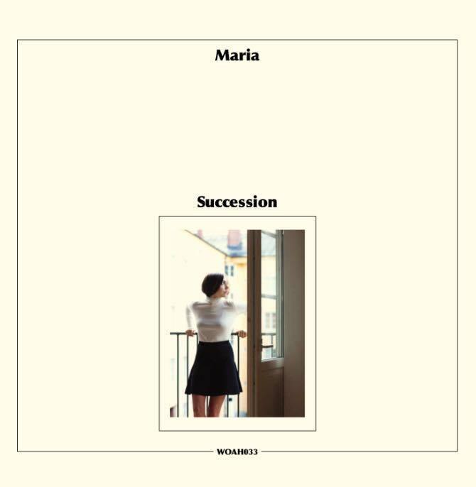 """Maria Andersson släpper första soloalbumet """"Succession""""."""