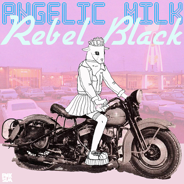 Angelic Milk – Rebel black, omslag