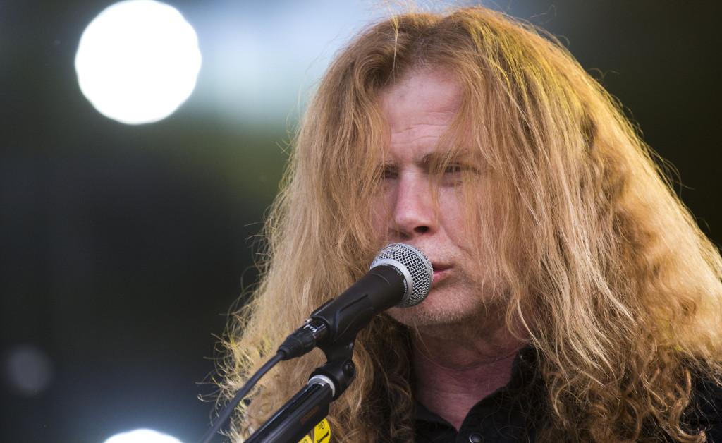 dave mustaine, megadeth, Sweden Rock festival