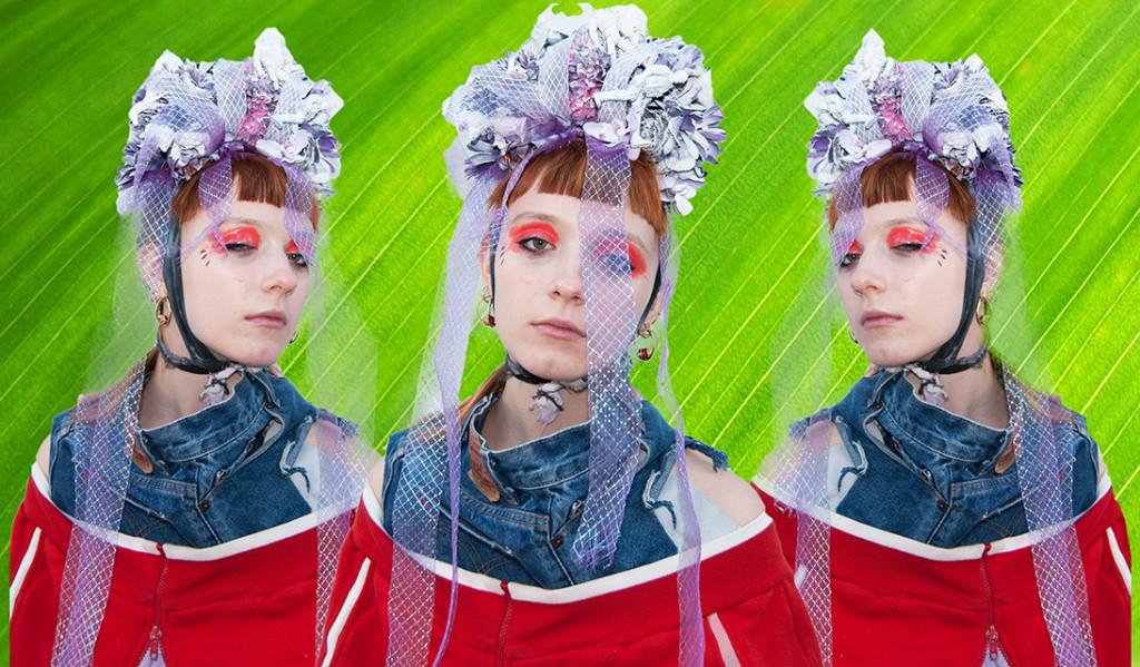 AMKosman. Bild ur en konceptuell musikvideo ihop med Hanna Westerling.