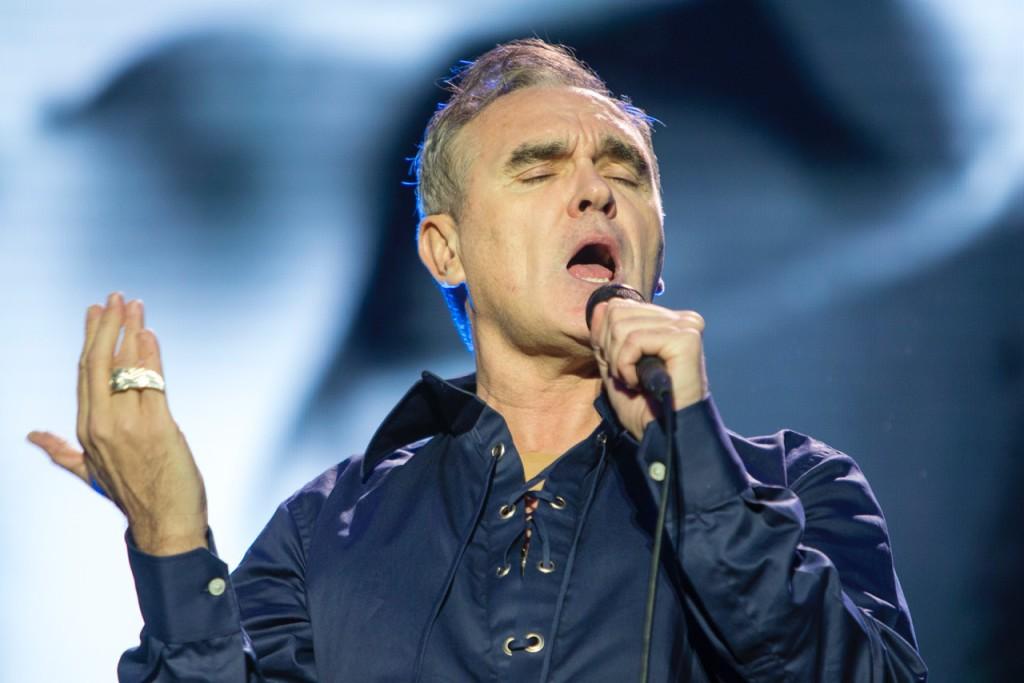 Morrissey glöder och hyllar Way Out West. Foto: Anders Deros.