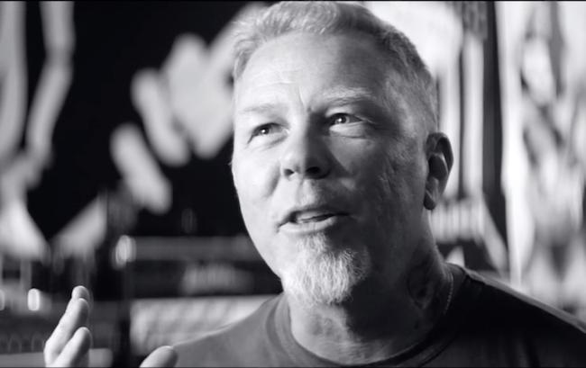 Hetfield talar nostalgiskt om det tidiga 1980-talets bandbytarscen. Foto: Spotify