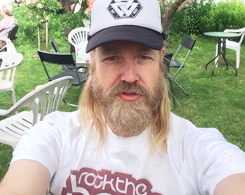 Ola Broquist, grundare av Way Out West och vd för Luger. Foto: Selfie.