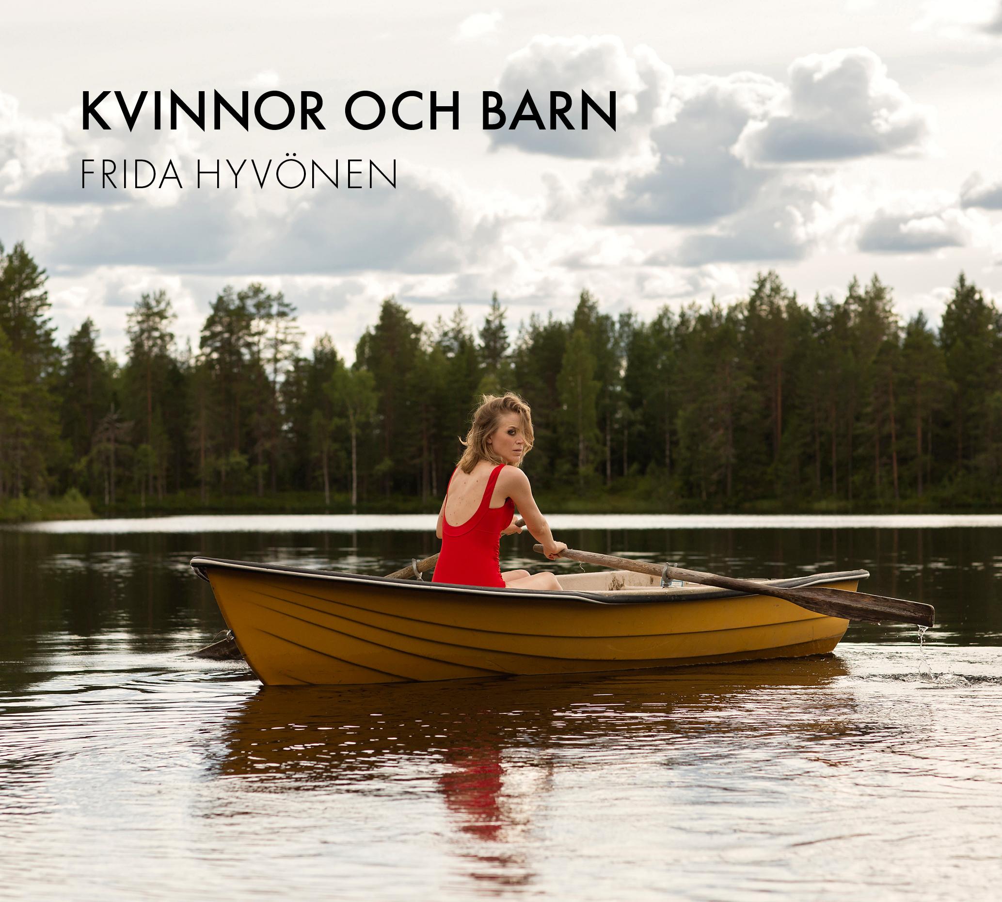 """Albumomslag till Frida Hyvönen """"Kvinnor och barn"""""""