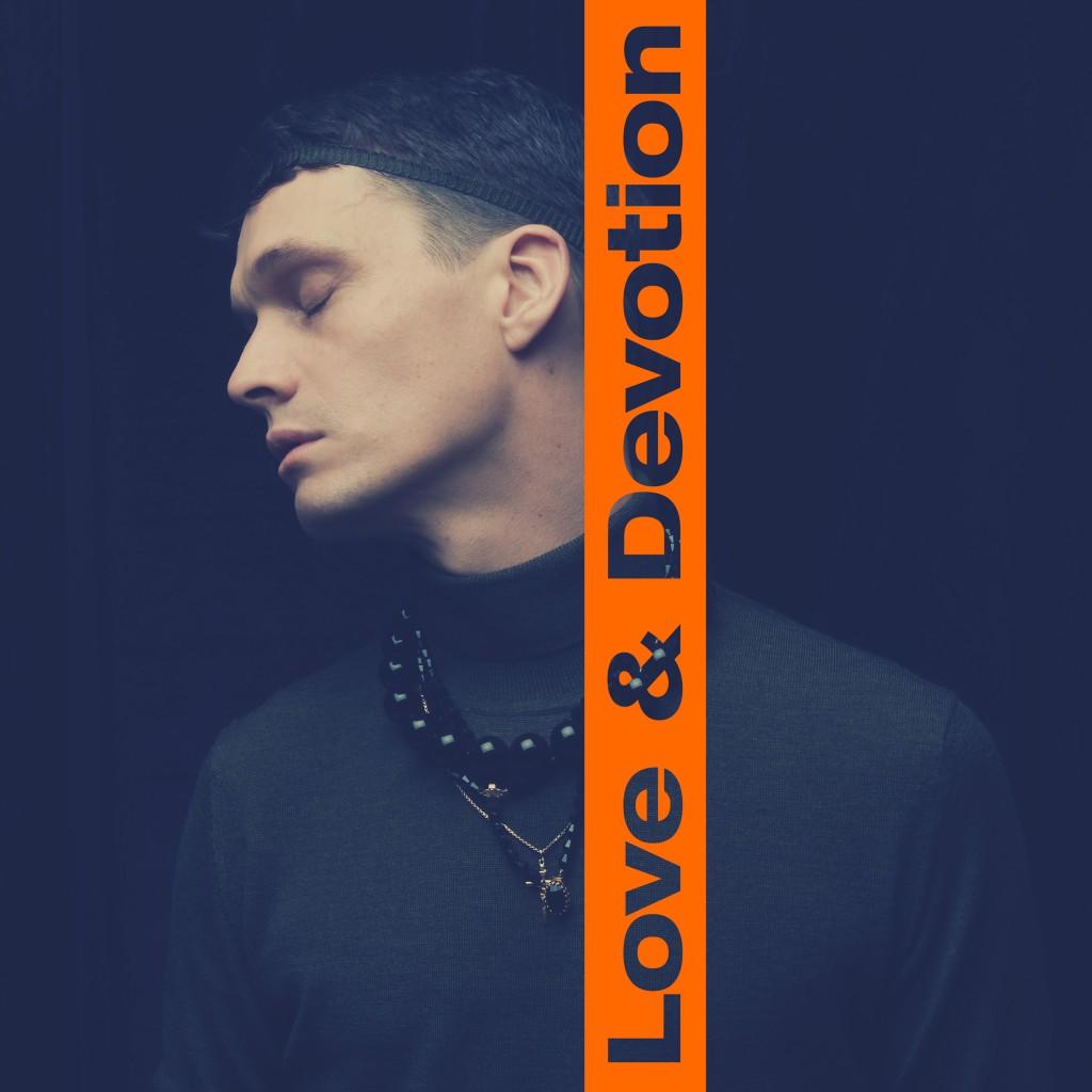 Skivomslag till Jonathan Johansson – Love & devotion