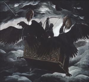 "Deathspell Omega ""The synarchy of molten bones"""