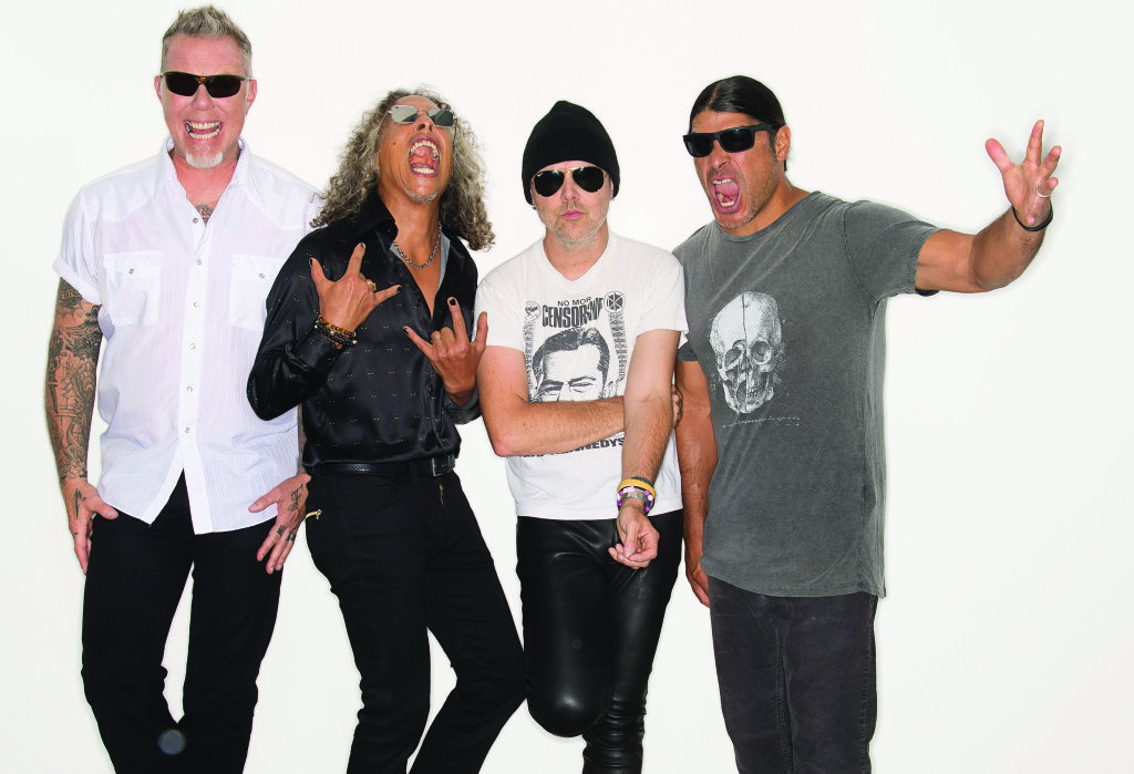James Hetfield, Kirk Hammett, Lars Ulrich och Rob Trujillo har fått en rad nya anledningar att fyra av sina finaste dollargrin. Foto: Ross Halfin