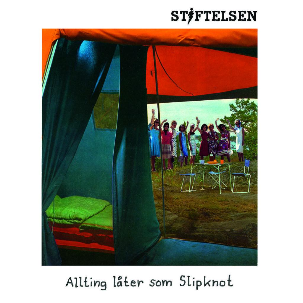 """Omslag till """"Allting låter som Slipknot"""" av Stiftelsen"""