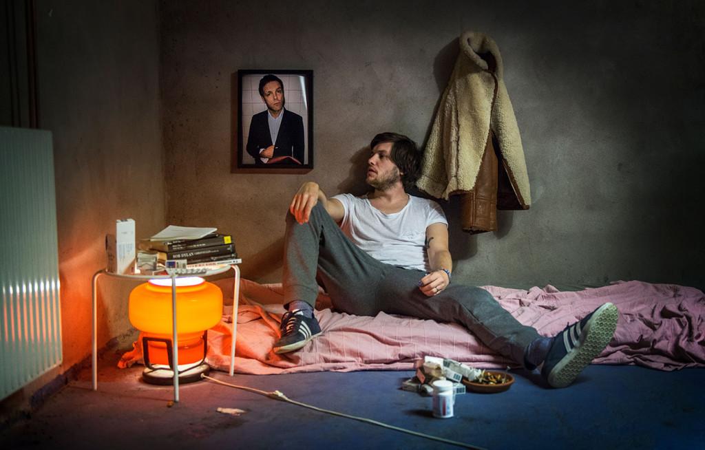 Rasmus Arvidsson sjunger i Avantgardet och intervjuas här. Foto: Anton Lernstål