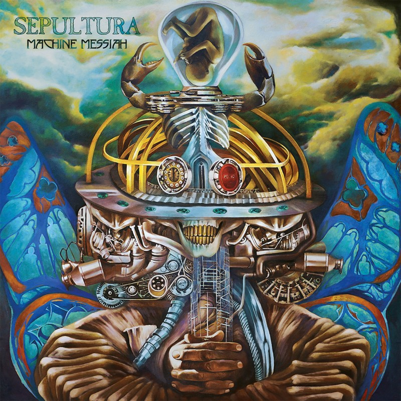 "Sepultura ""Machine messiah"""