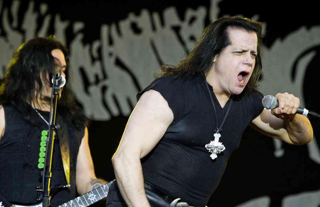 Danzig live på Getaway Rock i Gävle 2011. Foto: AFTONBLADET