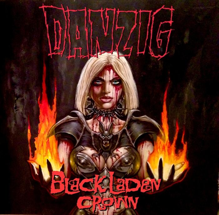 """Danzig """"Black laden crown"""""""