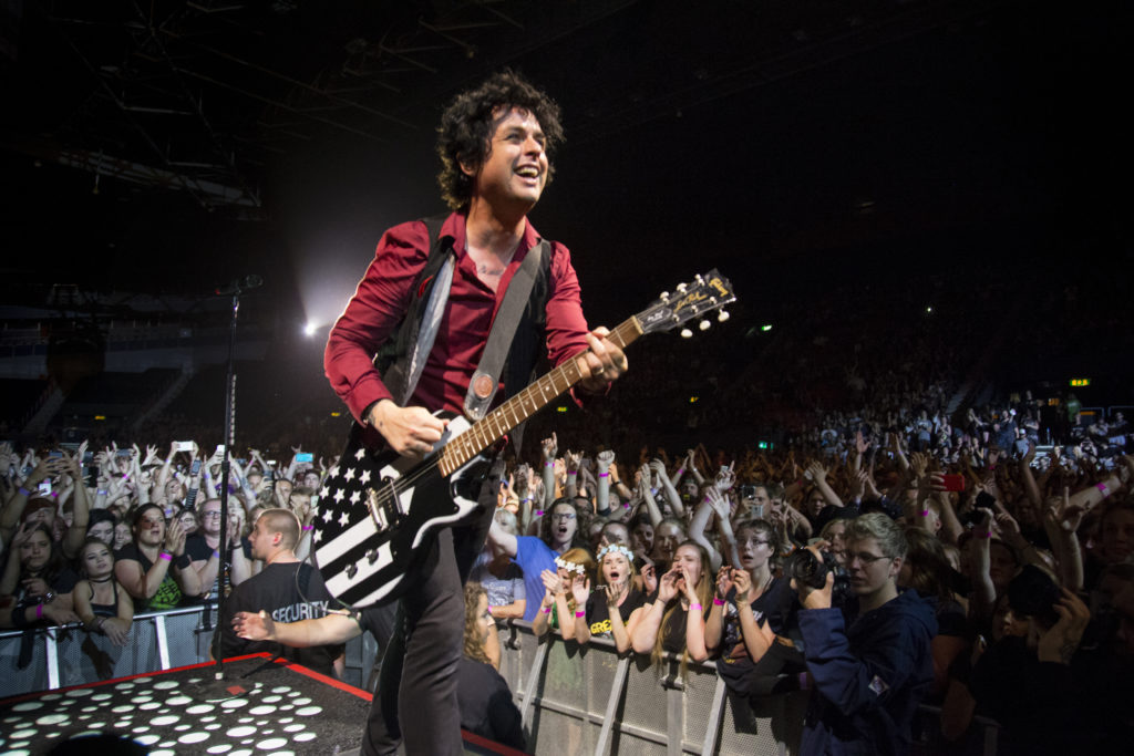 Green Day Scandinavium